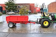New Tipping Trailer Wtl15 1.5tn Capacity - Now Back In Stock