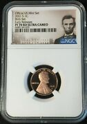 2021-s Ngc Pf70 Ucam Lincoln Cent Proof Birth Set Early Releases