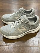 New Balance Women's 420v4 Running Shoes Gray W420ls4 Lace Up Size 10 D Wide