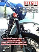 34mm 52mm 260mm Fork Boots Gaiters Gators @ Motorcycle Dirtbike With 35-36mm