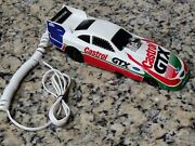 Vintage Rare 90and039s John Force Nhra Funny Car Touch Tone Telephone 🔥🔥🔥