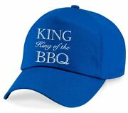 King Of The Bbq Cap Barbeque Birthday Christmas Fathers Day