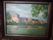 Oil Paintings Original Signed Framed, Landscape Grand Canyon,by F. Bohn