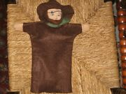 Old Antique German Hunter Hand Puppet Very Rare