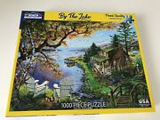 White Mountain Puzzles Joelle Mcintyre By The Lake 1000 Piece Puzzle 1520 2020