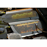 Acc Fuel Rail Covers W/yellow Led Fits 2005-2007 Corvette-replacement Perforated