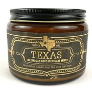New Specialty Texas Handmade Candle Jackson Vaughn Lone Star State 16oz Soy Wax