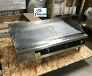 New 36 Electric Griddle Flat Grill Stove Countertop Nsf Etl 208/240v Commercial