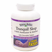 New Tranquil Sleep By Natural Factors - 120 Chewable Tablets Exp 10/2022