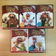 Best Of The Muppet Show 25th Anniversary Dvd's Lot Of 3   Good