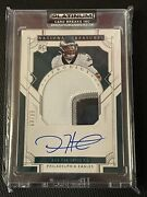 2020 Panini National Treasures Jalen Hurts Prodigy Rpa Patch Auto /99 Eagles 🔥