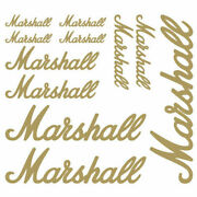 Stickers Kit Vinyl Tuning Marshall Custom Motorcycle Decals Stickers