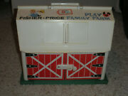 Vintage Fisher Price 1967 Farm Barn Fp 915 Excellent Used Condition