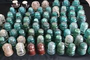 80 Glass Insulatorscollection Of Hemingway,brookfield,armstrongs,candp Tel.co.etc
