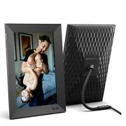 Smart Digital Picture Frame, Share Video Clips And Photos Instantly 10.1 Inch