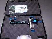 4 Davis Target Sight- Double Knob Mount -black With Light Blue Knobs.....