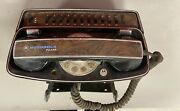 Vintage Motorola Pulsar 1 Rotary Car Phone With Car Bracket For Parts Only