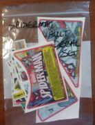 Stern Spider-man Vault Pinball Machine Decal Set - New / Old Stock Free Shipping
