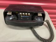 Vintage Motorola Mts 1 Car Phone For Parts Only