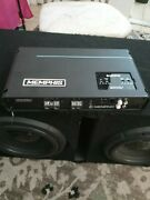 Memphis Prxa1000.1 Power Reference Amp And Subwoofers