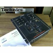 Technics Sh-ex1200 Audio Mixer Muse Ic Chips Power Cable Analog Dmc Official