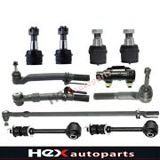 Tie Rod End Drag Link Ball Joint Sway Bar Link For Ford F250 F350 Super Duty 4wd