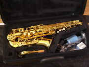yamaha Yas-480 Alto Saxophone Wind Instrument W/ Accessories Shipped From Japan