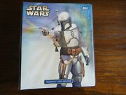 Topps Star Wars Attack Of The Clones Widevision / Uk Base Set + Binder + Promos