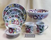 Portmeirion Welsh Dresser Dinner Salad Bread And Butter Cup And Saucer Bowl 9