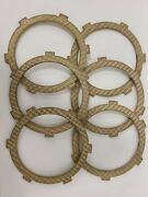 Maico Bronze Clutch Plate Set 4 And 5 Speed 250 400 440 490 1969 - 1982 New