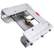 New Manual Back Aluminum Adjustable 4and039and039 Outboard Boat Jack Plate