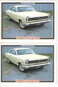 1967 Mercury Cyclone 427 Baseball Card Sized Cards - Must See - Lot Of 2