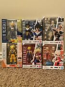 Bandai S.h. Figuarts Dragonball Z Lot Of 6x Figures Brand New Never Opened Dbz