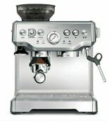 New In Box Breville The Barista Express Espresso Machine Stainless Steel