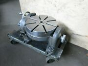 Hauser 12 1/4andprime Tilting Milling Rotary Table Made In Switzerland