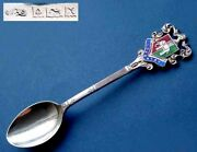 Collecting Spoons/souvenir Spoon/coat Of Arms- Spooncoventrysilverenamel B474