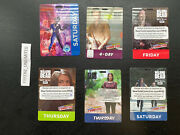 Lot Of Walking Dead Marvel Nycc Comic Con Badge Ticket New York Comic Con Pass