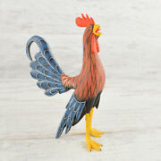 Rooster Alebrije Oaxacan Wood Carving A2382   Magia Mexica