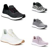 Athletic Works Womenand039s Pick Color Knit Memory Foam Slip-on Sneakers Shoes 6-11