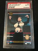 1991 Boxing Players Intl Ringlords 33 Hector Camacho Rookie Rc Psa 9 - Pop 24