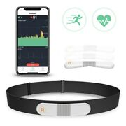 Wellue Visualbeat Real Time Heart Rate Monitor Chest Strap Personal Ekg Ecg App