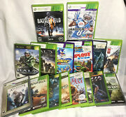 Xbox 360 Mix Lot Of 16 Games Call Of Duty Viking Madden 13 Titanfall