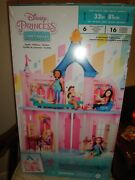 New Disney Princess Comfy Squad Castle Doll House With Furniture