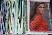 Huge Lot Of 109 Diane Lane 1970s/1980s/1990s Japan Picture Clippings Posters