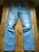 G-star General Elwood Tapered Shed Embro 3d 5620 W34/l34 Jeans Hose 34 34 A445
