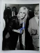 The Runaways Lita Ford Signed Authentic Autograph 7 X 9 Photo