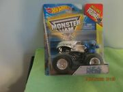 2014 Hot Wheels Monster Jam N.e.a. Police With Blue Figure Red Corner T