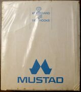 Vintage Mustad Nos Sealed In Box 3366 Size 5/0 Sproat Hooks Norway/usa 10box