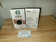 Lot 16 Starbucks Via Columbia Roast Instant Coffee Packets Lot 2 Boxes