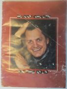 Vintage Harry Chapin Concert Book On The Road Autographed 1971 Booklet 16 Pages